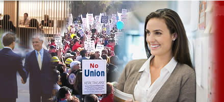 No Union! Remain union free with The Burke Group